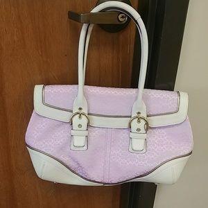 {HP} Pink Coach Soho Bag